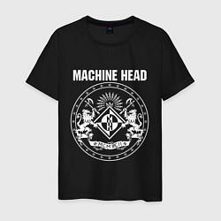 Футболка хлопковая мужская Machine Head MCMXCII цвета черный — фото 1