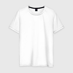 Футболка хлопковая мужская Kasabian: Symbol цвета белый — фото 1