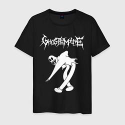 Футболка хлопковая мужская Ghostemane цвета черный — фото 1
