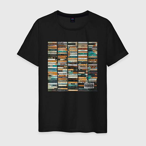 Мужская футболка Скриптонит- 2004 / Черный – фото 1