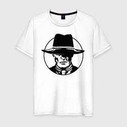 Футболка хлопковая мужская Westworld цвета белый — фото 1