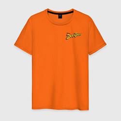 Футболка хлопковая мужская Scrooge McDuck цвета оранжевый — фото 1