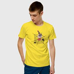 Футболка хлопковая мужская The Incredibles цвета желтый — фото 2
