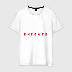 Мужская хлопковая футболка с принтом Armin van Buuren: Embrace, цвет: белый, артикул: 10074442100001 — фото 1