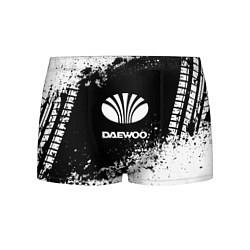 Трусы-боксеры мужские Daewoo: Black Spray цвета 3D — фото 1