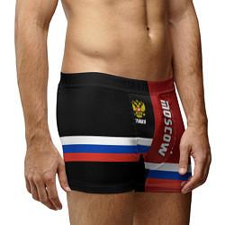Трусы-боксеры мужские Moscow, Russia цвета 3D — фото 2