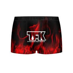 Трусы-боксеры мужские Thousand Foot Krutch: Red Flame цвета 3D — фото 1