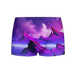 Трусы-боксеры мужские No Man's Sky: Neon Mountains цвета 3D — фото 1