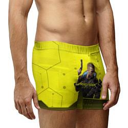 Трусы-боксеры мужские CYBERPUNK 2077 цвета 3D — фото 2