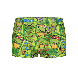 Трусы-боксеры мужские Teenage Mutant Ninja Turtles цвета 3D-принт — фото 1