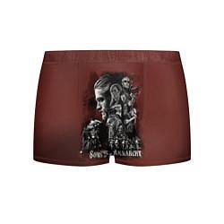 Трусы-боксеры мужские Sons Of Anarchy цвета 3D-принт — фото 1