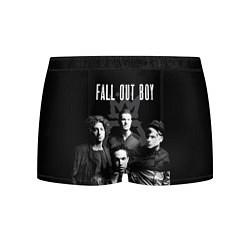 Трусы-боксеры мужские Fall out boy band цвета 3D-принт — фото 1