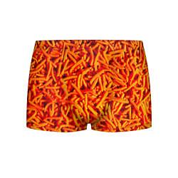 Трусы-боксеры мужские Морковь цвета 3D-принт — фото 1