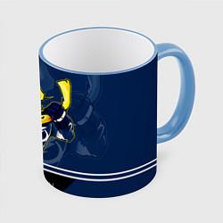 Кружка 3D Bay Lightning цвета 3D-небесно-голубой кант — фото 1