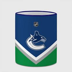 Кружка 3D NHL: Vancouver Canucks цвета 3D-синий кант — фото 2