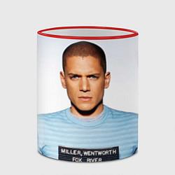 Кружка 3D Prison Break: Michael Scofield цвета 3D-красный кант — фото 2