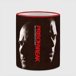 Кружка 3D Prison Break: Faces цвета 3D-красный кант — фото 2