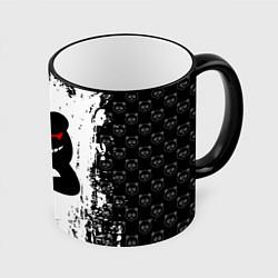 Кружка 3D MONOKUMA цвета 3D-черный кант — фото 1