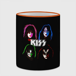 Кружка 3D KISS: Acid Colours цвета 3D-оранжевый кант — фото 2
