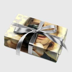 Бумага для упаковки Кобейн с пистолетом цвета 3D — фото 2