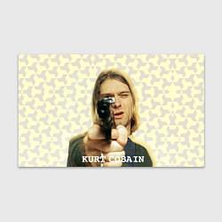 Бумага для упаковки Кобейн с пистолетом цвета 3D-принт — фото 1