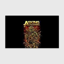 Бумага для упаковки Asking Alexandria цвета 3D-принт — фото 1
