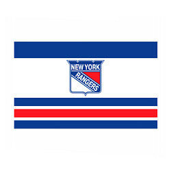 Бумага для упаковки New York Rangers цвета 3D-принт — фото 1