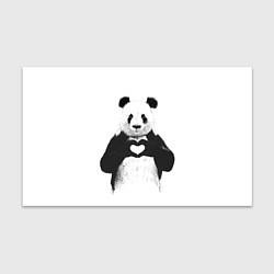 Бумага для упаковки Panda Love цвета 3D — фото 1