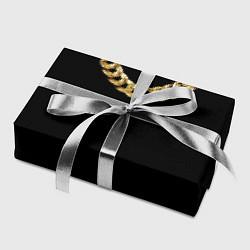 Бумага для упаковки Золотая цепь цвета 3D — фото 2