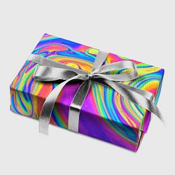 Бумага для упаковки Цветные разводы цвета 3D — фото 2