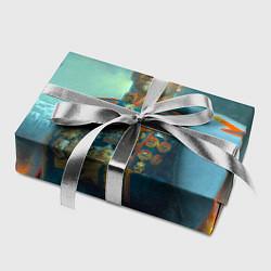 Бумага для упаковки Жуков цвета 3D — фото 2