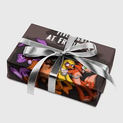 Бумага для упаковки Five Nights At Freddy's цвета 3D — фото 2