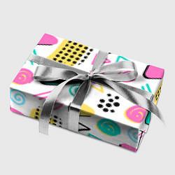 Бумага для упаковки Поп-арт цвета 3D — фото 2