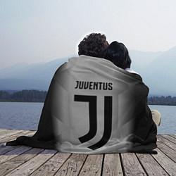 Плед флисовый FC Juventus: Silver Original цвета 3D — фото 2
