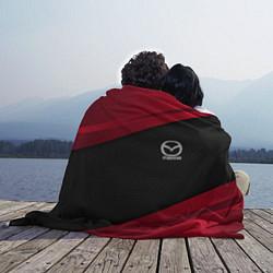 Плед флисовый Mazda: Red Sport цвета 3D — фото 2