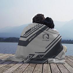 Плед флисовый Team Liquid: Grey E-Sport цвета 3D-принт — фото 2