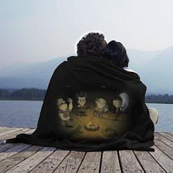 Плед флисовый Don't Starve campfire цвета 3D — фото 2