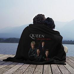 Плед флисовый Queen: Greatests Hits цвета 3D — фото 2