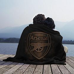 Плед флисовый Arsenal цвета 3D — фото 2