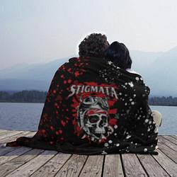 Плед флисовый Stigmata цвета 3D-принт — фото 2