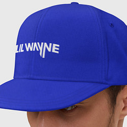 Кепка-снепбек Lil Wayne цвета синий — фото 1