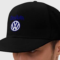 Кепка-снепбек Volkswagen Das Auto цвета черный — фото 1