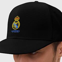 Кепка-снепбек Real Madrid цвета черный — фото 1