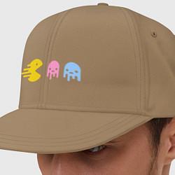 Кепка-снепбек Pac-Man: Fast Eat цвета миндальный — фото 1