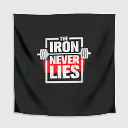Скатерть для стола The iron never lies цвета 3D — фото 1