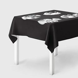 Скатерть для стола KISS Mask цвета 3D — фото 2