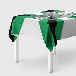 Скатерть для стола Железнодорожные войска цвета 3D-принт — фото 2