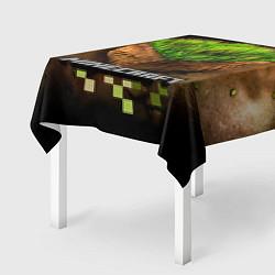 Скатерть для стола Майнкрафт цвета 3D — фото 2