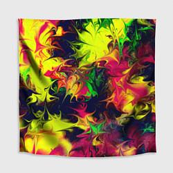 Скатерть для стола Кислотный взрыв цвета 3D — фото 1