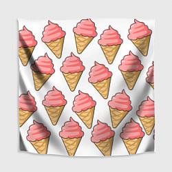 Скатерть для стола Мороженки цвета 3D — фото 1